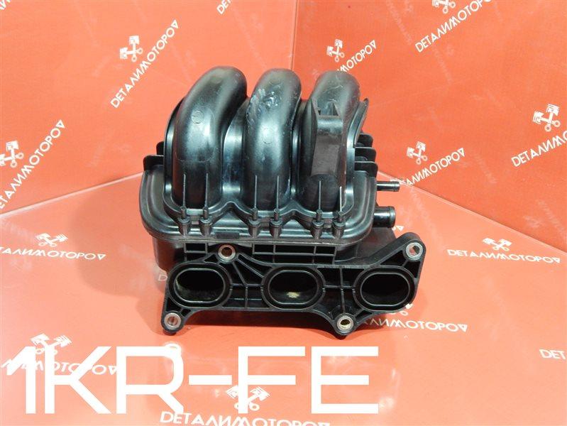 Коллектор впускной Toyota Belta DBA-KSP92 1KR-FE
