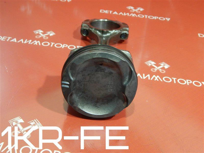 Поршень с шатуном Toyota Belta DBA-KSP92 1KR-FE