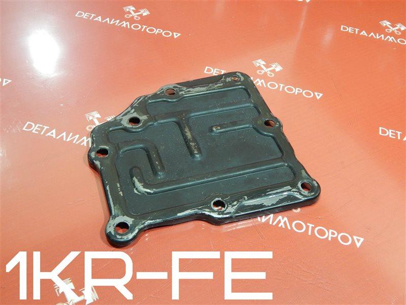 Крышка двигателя Toyota Belta DBA-KSP92 1KR-FE