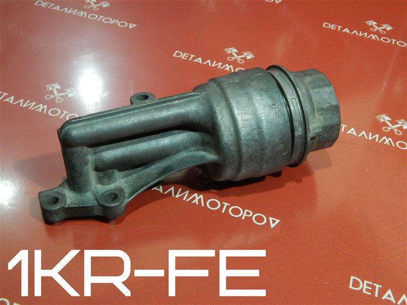 Корпус масляного фильтра Toyota Belta DBA-KSP92 1KR-FE
