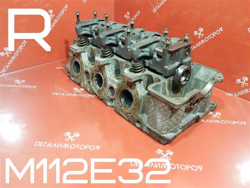 Головка блока цилиндров Mercedes-Benz Clk 320 C208 M112E32 правая