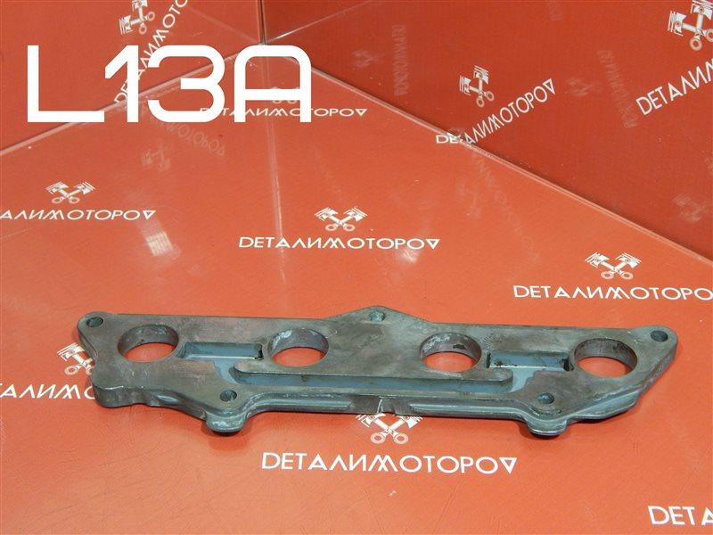 Пластина впускного коллектора Honda Fit DBA-GE6 L13A