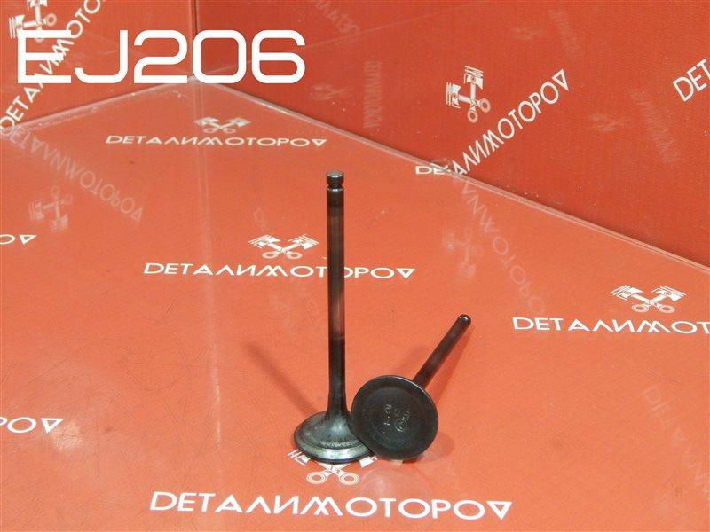 Клапан выпускной Subaru Legacy BE5 EJ206