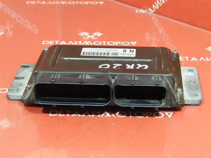 Блок управления двс Nissan QR20DE