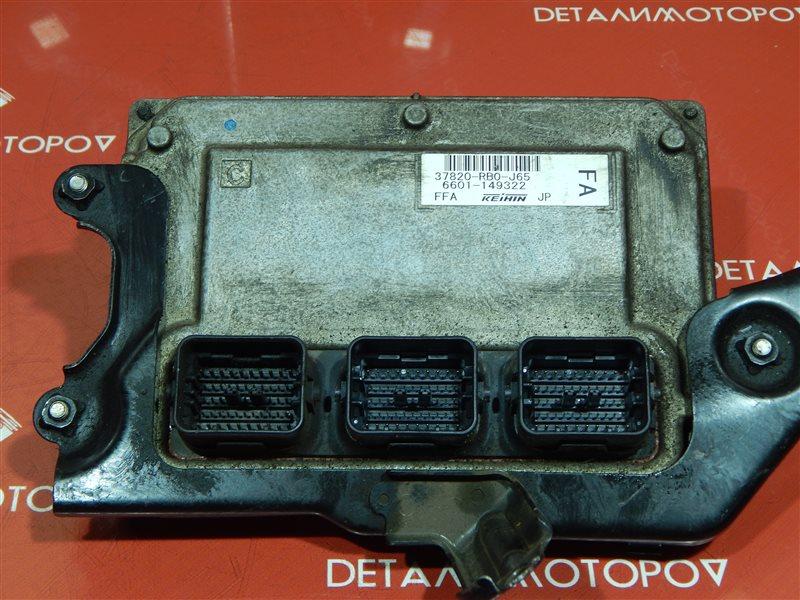 Блок управления двс Honda Fit DBA-GE6 L13A