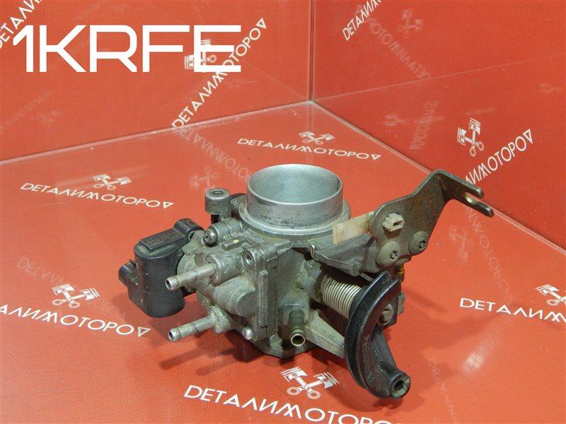 Дроссельная заслонка Toyota Belta DBA-KSP92 1KR-FE