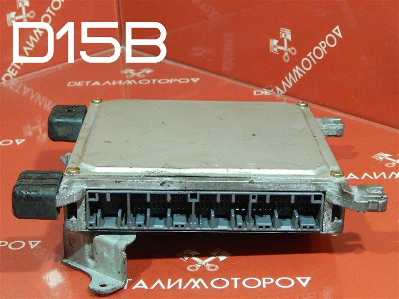 Блок управления двс Honda Capa E-EF2 D15B