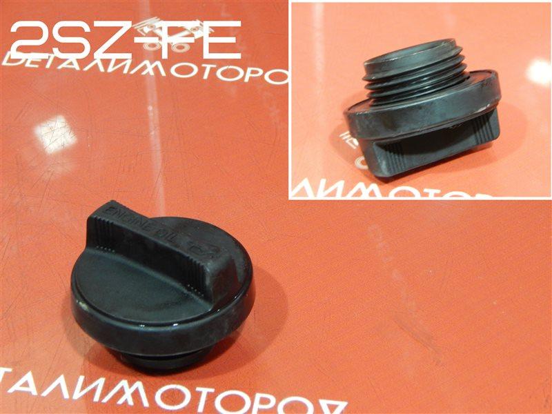 Крышка маслозаливной горловины Toyota Belta DBA-SCP92 2SZ-FE