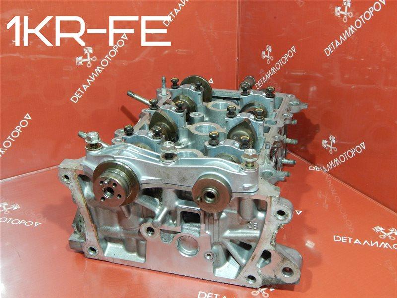 Головка блока цилиндров Toyota Belta DBA-KSP92 1KR-FE