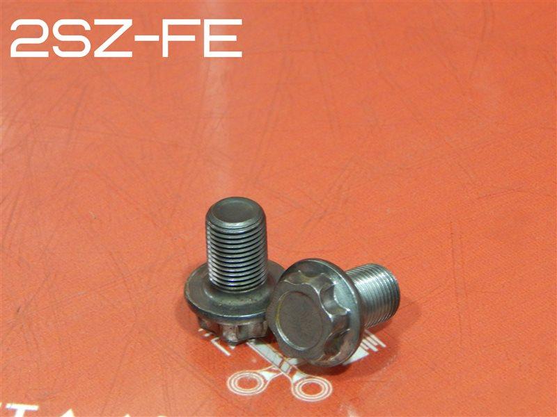 Болт маховика Toyota Belta DBA-SCP92 2SZ-FE