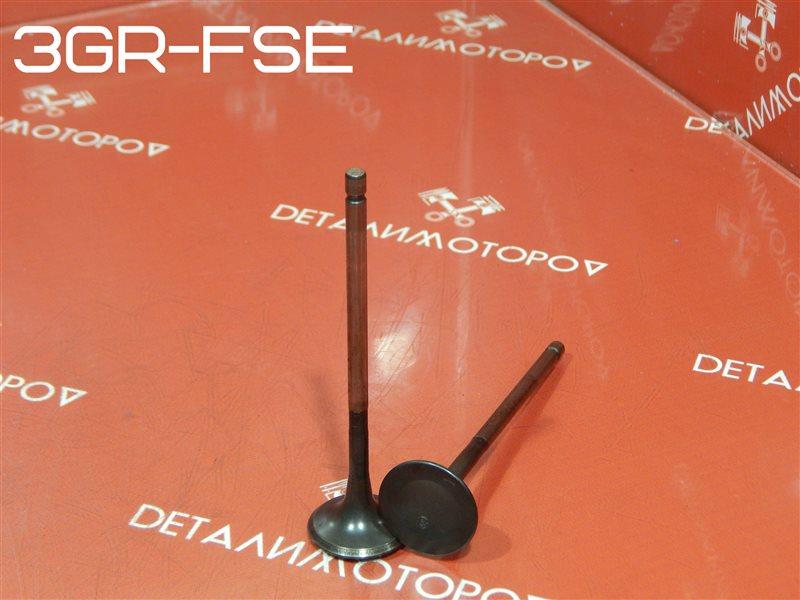 Клапан выпускной Toyota Crown DBA-GRS203 3GR-FSE