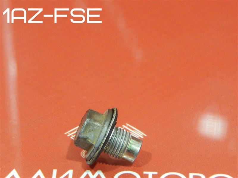Пробка поддона сливная Toyota Allion CBA-AZT240 1AZ-FSE