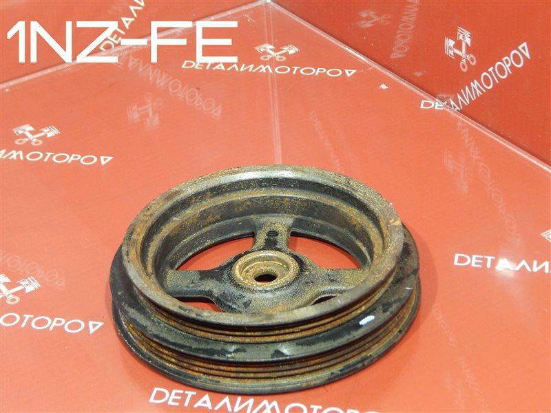 Шкив коленвала Toyota Allex CBA-NZE124 1NZ-FE
