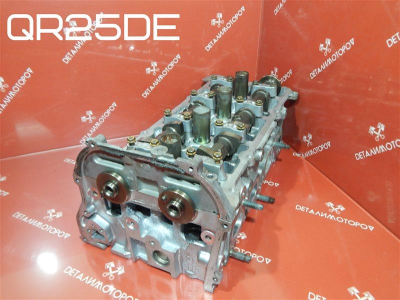 Головка блока цилиндров Nissan Bassara TA-JTU30 QR25DE