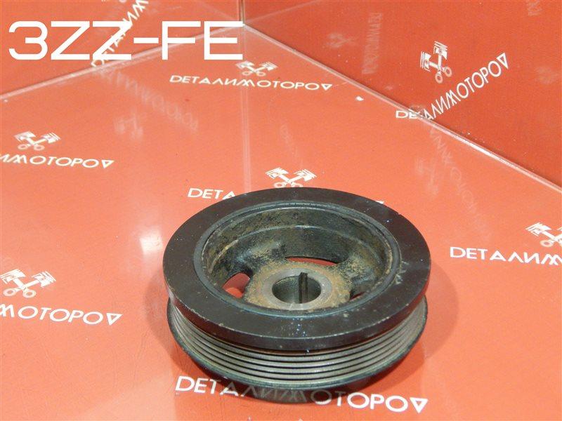 Шкив коленвала Toyota Avensis ZZT220 3ZZ-FE
