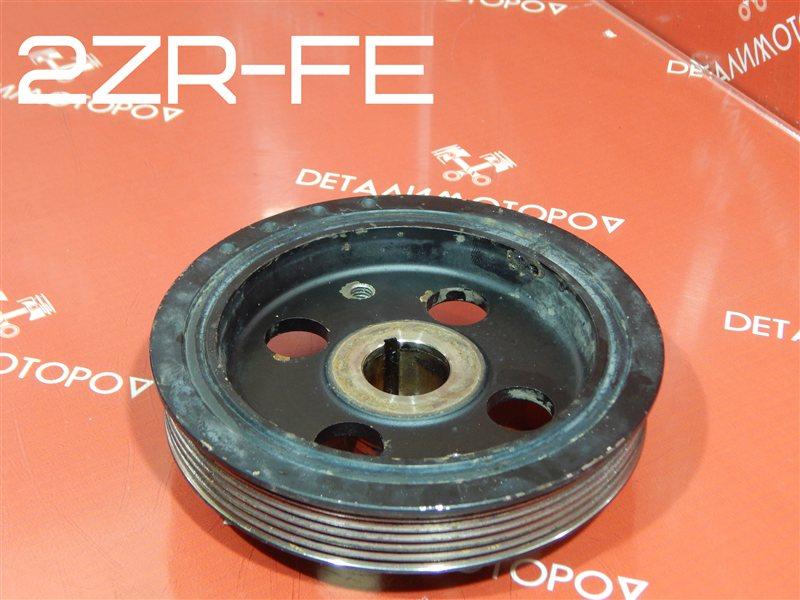 Шкив коленвала Toyota Allion DBA-ZRT265 2ZR-FE