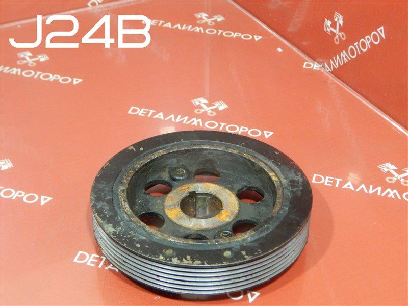 Шкив коленвала Suzuki Escudo CBA-TDA4W J24B