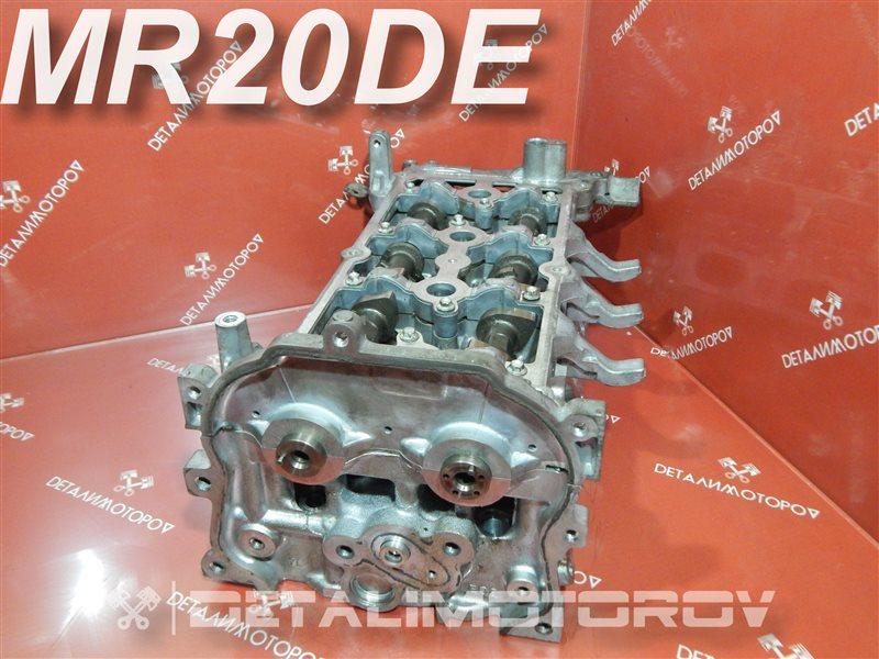 Головка блока цилиндров Nissan Bluebird Sylphy DBA-KG11 MR20DE