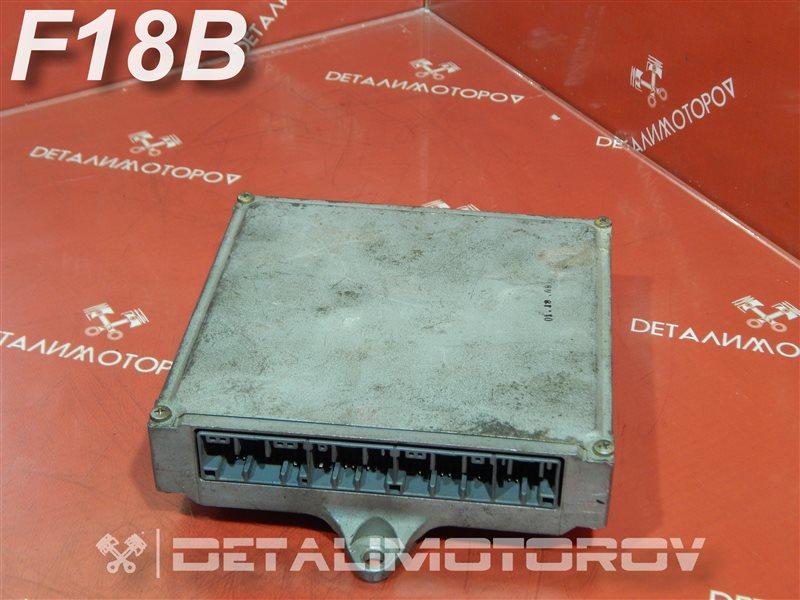 Блок управления двс Honda Accord GH-CF3 F18B