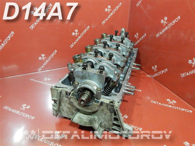 Головка блока цилиндров Honda Civic Aerodeck MB8 D14A7