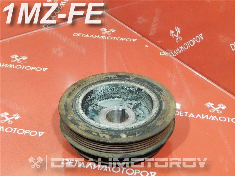 Шкив коленвала Toyota Alphard CBA-MNH10W 1MZ-FE