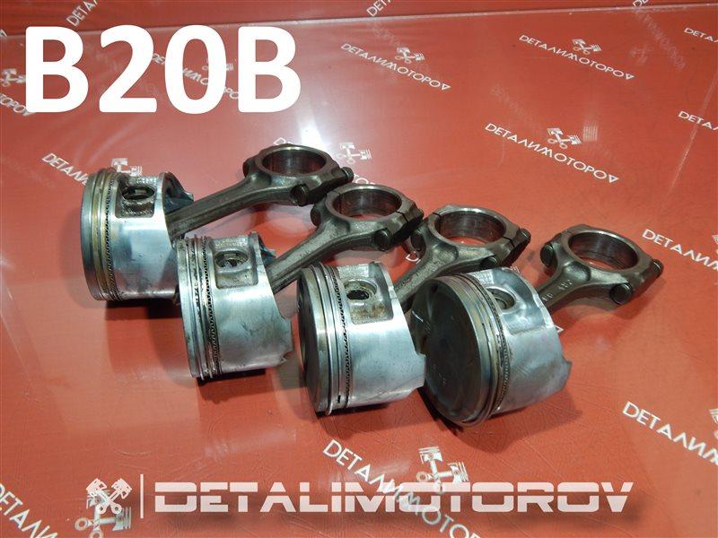 Поршень с шатуном Honda Cr-V GF-RD1 B20B