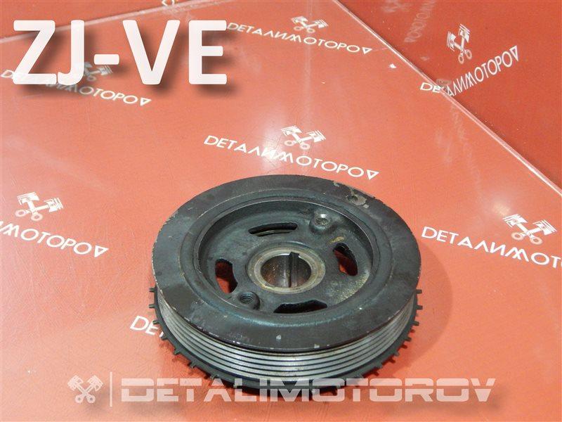 Шкив коленвала Mazda Demio DBA-BL5FP ZJ-VE