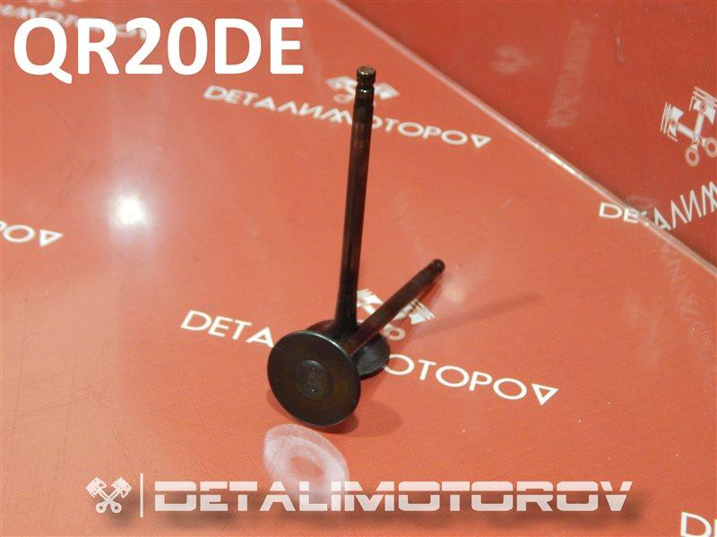 Клапан выпускной Nissan Avenir TA-RNW11 QR20DE