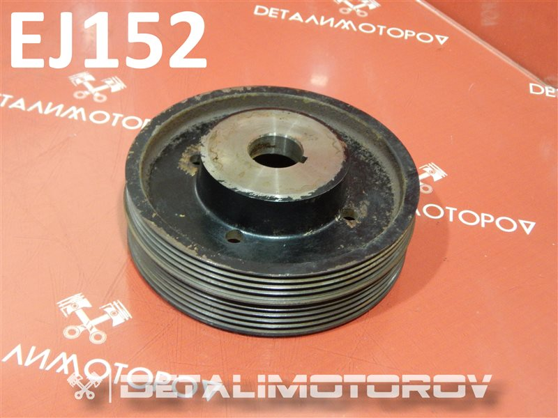 Шкив коленвала Subaru Impreza E-GC1 EJ152