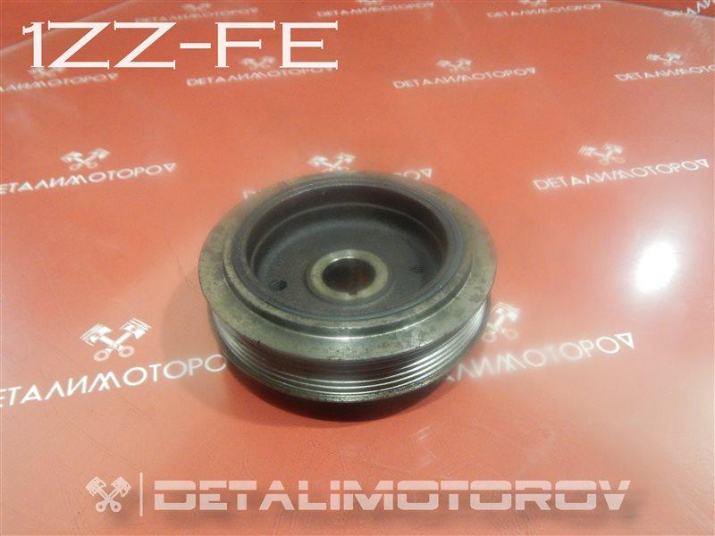 Шкив коленвала Toyota Allex ZZE122 1ZZ-FE