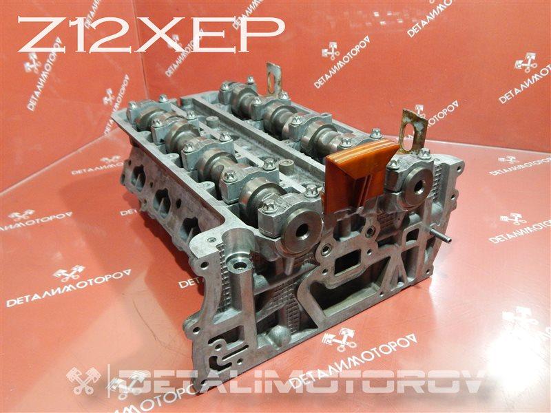 Головка блока цилиндров Opel Corsa F68 Z12XEP