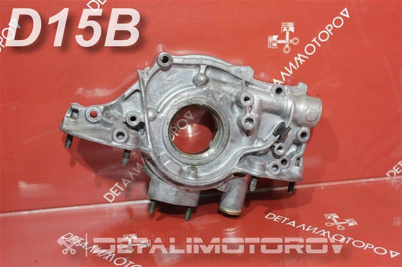 Масляный насос Honda Capa E-EF2 D15B