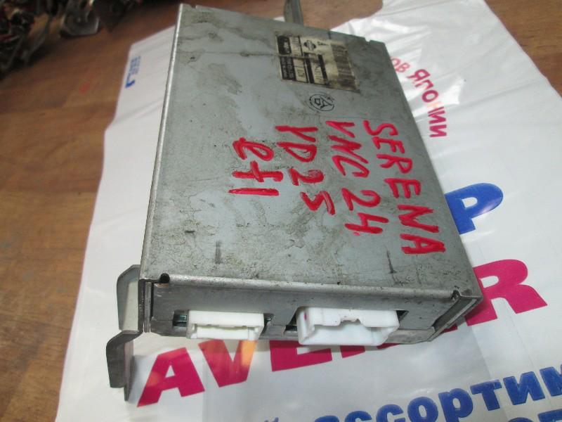 Блок управления efi Nissan Serena VNC24 YD22