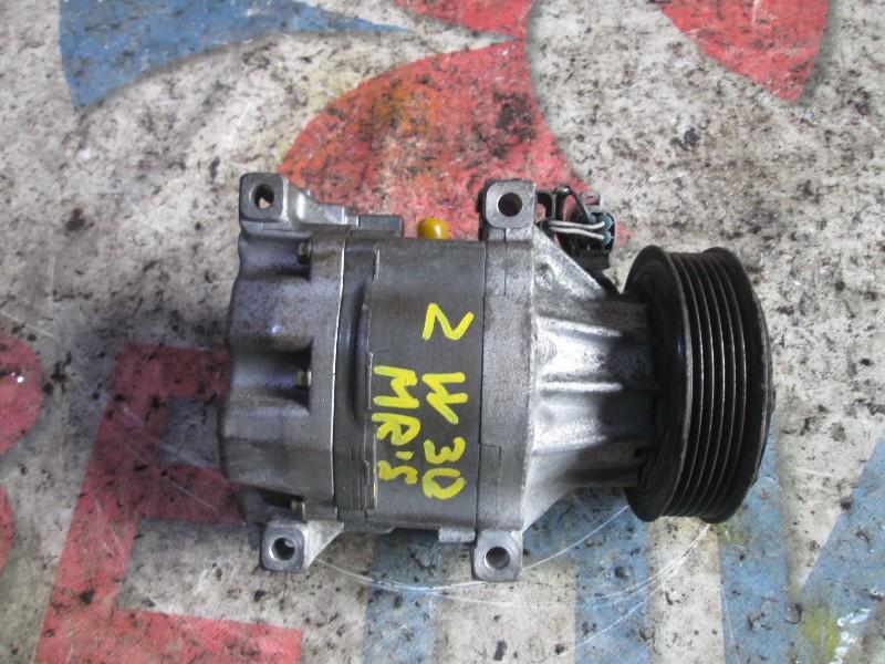 Компрессор кондиционера Toyota Mr-S ZZW30 1ZZ-FE