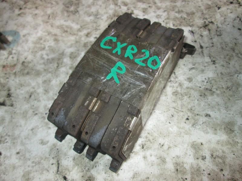 Тормозные колодки Toyota Estima CXR20 3C-TE заднее