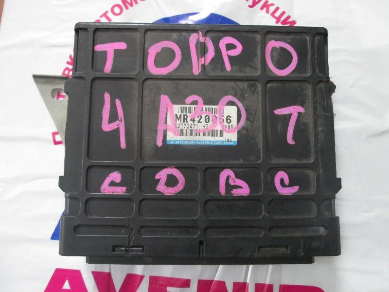 Блок управления efi Mitsubishi Toppo Bj H46A 4A30T