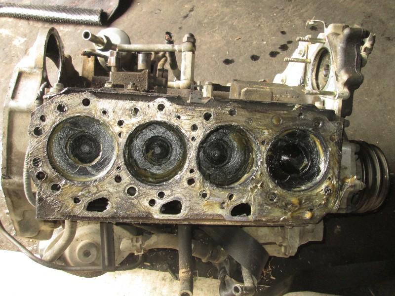 Блок двигателя Isuzu Bighorn UBS73 4JX1T 2001