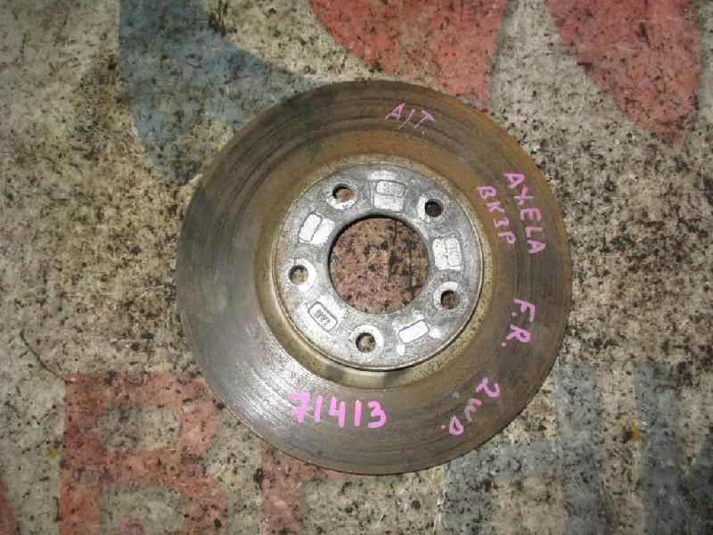 Тормозной диск Mazda Axela BK3P передний правый