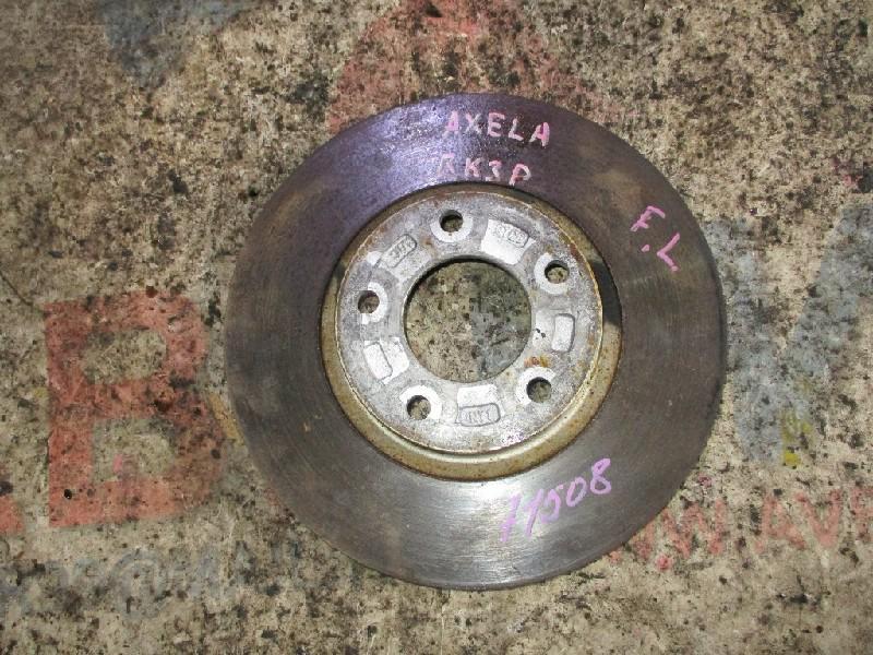 Тормозной диск Mazda Axela BK3P L3 передний