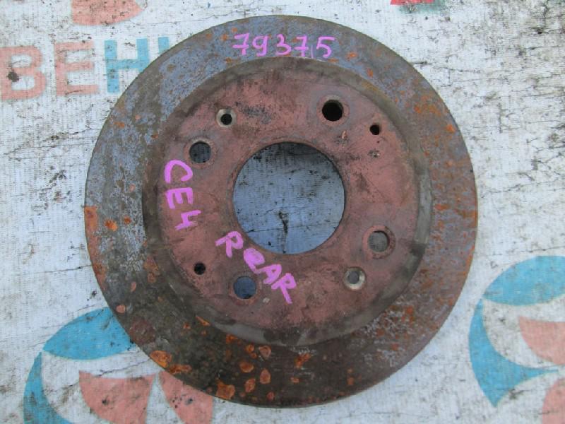 Тормозной диск Honda Rafaga CE4 задний