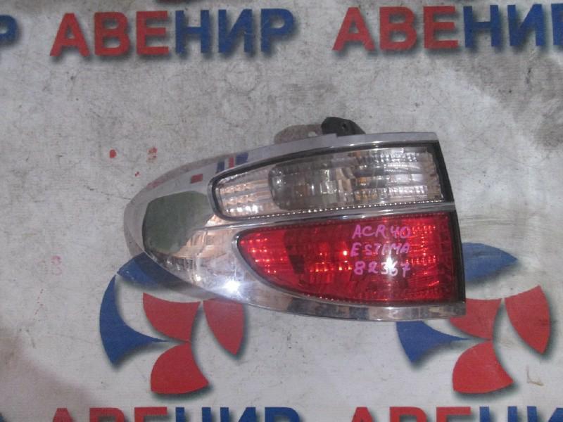 Стоп-сигнал Toyota Estima ACR40 задний левый