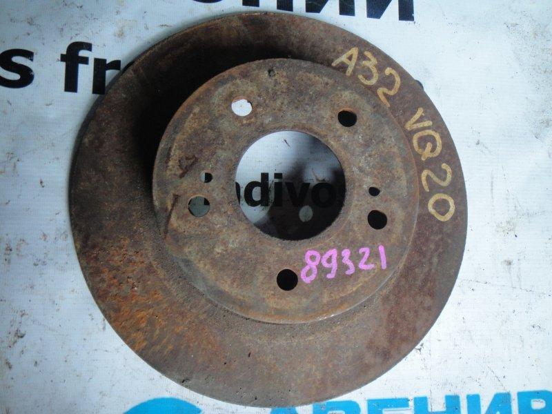 Тормозной диск Nissan Cefiro A32 задний левый