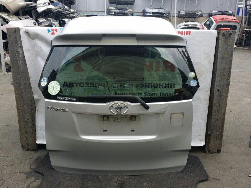 Дверь задняя Toyota Ractis NSP120 1NZ-FE задняя