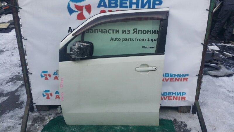 Дверь Suzuki Wagon R MH23S K6A передняя левая
