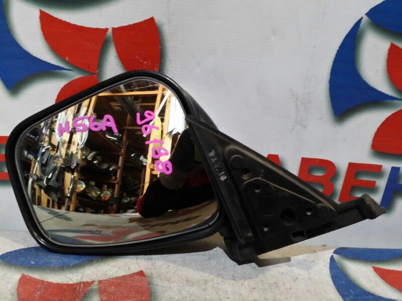 Зеркало Mitsubishi Pajero Mini H56A левое