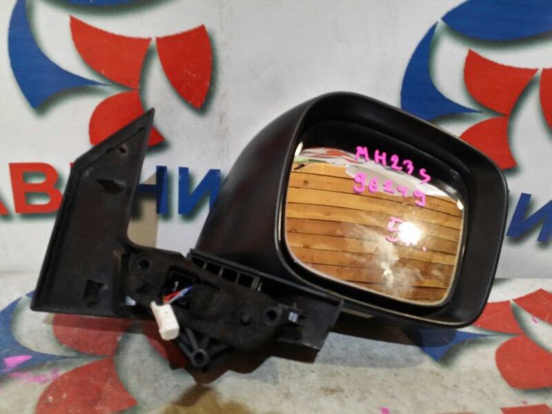Зеркало Suzuki Wagon R MH23S переднее правое