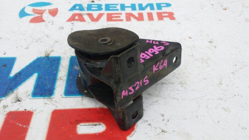Подушка двигателя Mazda Az Wagon MJ21S K6A нижняя