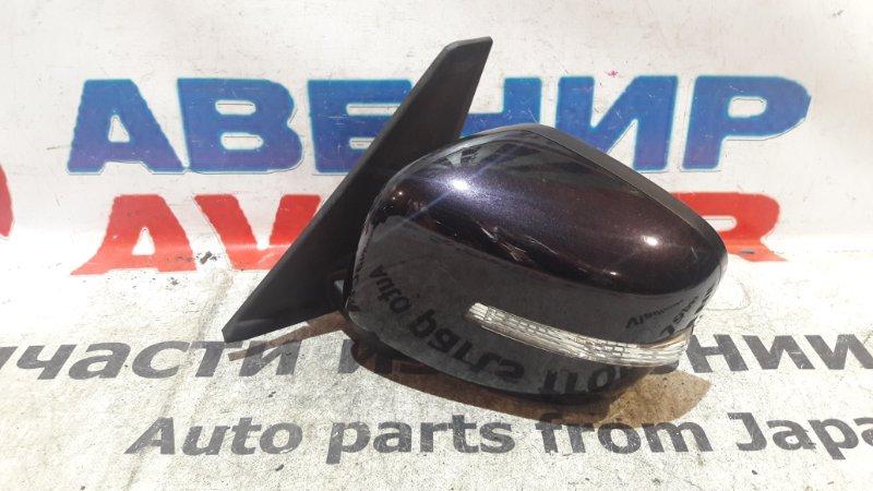 Зеркало Suzuki Palette Sw MK21S переднее левое