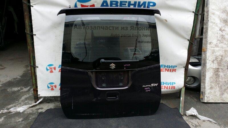 Дверь задняя Suzuki Palette Sw MK21S 2010 задняя