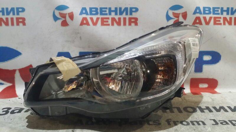 Фара Subaru Impreza GJ3 передняя левая